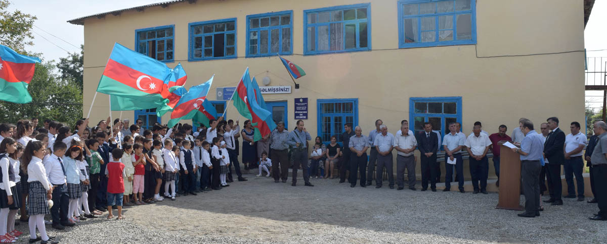 Residents of the Niyazabad community of Khachmaz rayon celebrated the successful addition of two new rooms for the village school