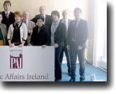 Members of the Montenegrin RIA Unit met with members of Public Affairs Ireland during study tour.