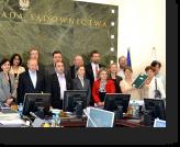Georgian Judges and JILEP's Judicial Reform Advisor meet with the members of the Polish National Judicial Council