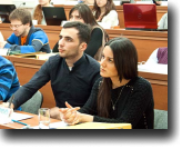 Law students learning concepts in international sales law at NCCL Commercial Law Winter School