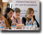 Judicial Assistants discussing case on rights of homosexuals under Article 8 of the ECHR