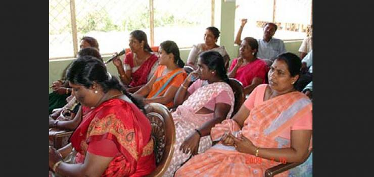 Community Based Legal Aid Project in Sri Lanka