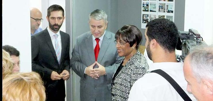 The renovated user premises of the Basic Court in Podgorica were opened to the public September 2012.