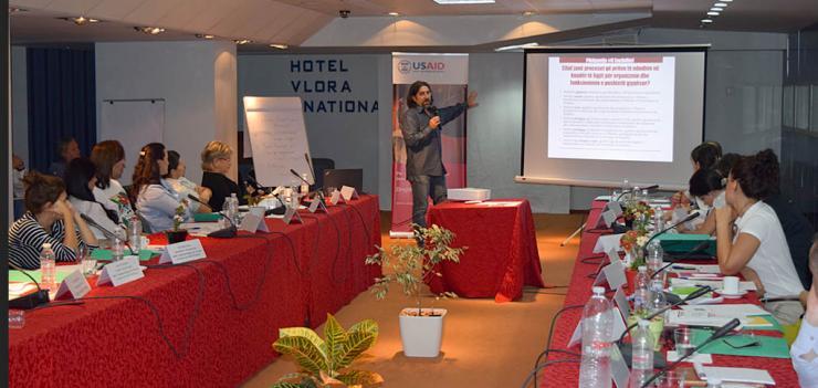 "CSO Coalition ""Drejtesi per te githe"" retreat in Vlore"