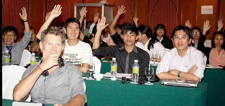 Lawyer and law student conference participants pledge to listen to LGBT clients, and take their cases.