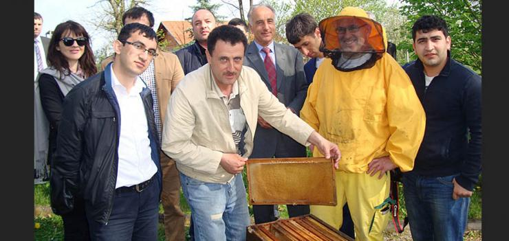 """""""We will share this experience to empower local communities by developing their own potential products and services."""" – Sharifov Rovshan, farmer from Khachmaz rayon"""