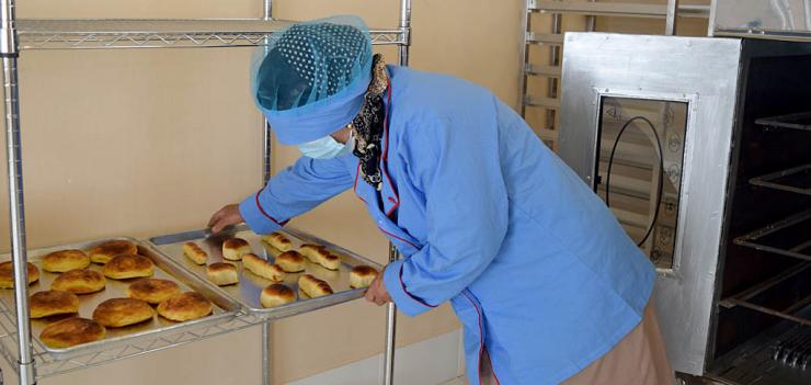 The new facility is the first pastry bakery in the area.
