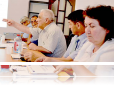 During focus groups, citizens and local officials discuss ways to enhance citizens' participation in local governance.